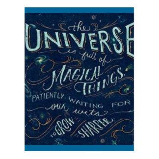 Magical Universe Post Card