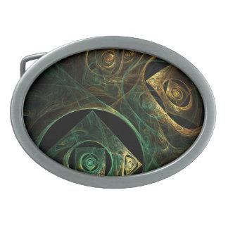 Magical Vibrations Abstract Art Belt Buckle