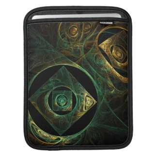 Magical Vibrations Abstract Art iPad Sleeve
