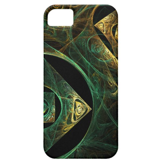 Magical Vibrations Abstract Art iPhone 5 Case For The iPhone 5