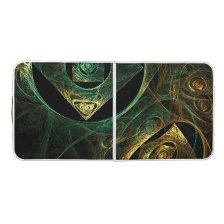 Magical Vibrations Abstract Art Pong Table