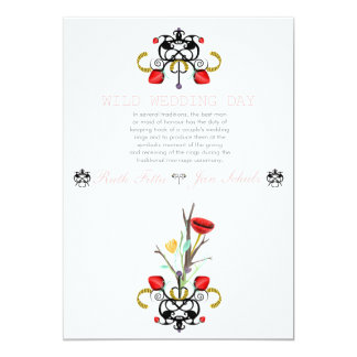Magical Wedding Collection Rupydetequila 2013 13 Cm X 18 Cm Invitation Card