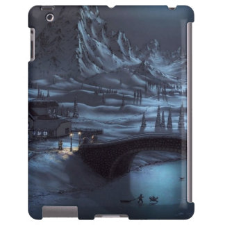 Magical Winter Nights iPad Case