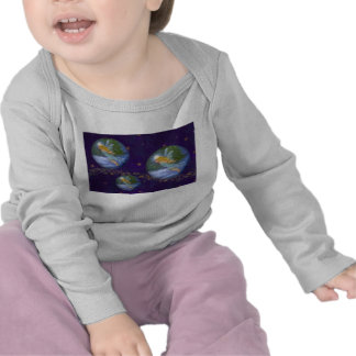 MAGICAL WINTER TWINKLING ANGEL BABY T SHIRT