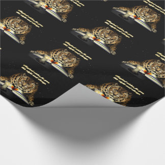 Magical Wishes from the Leopard Mage Wrapping Paper