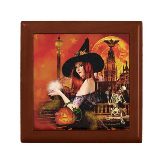 Magical Witch Keepsake Jewellery Box