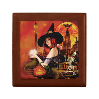 Magical Witch Keepsake Jewelry Box