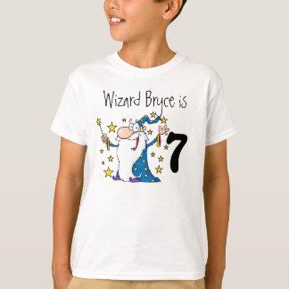 Magical Wizard Customizable Birthday T-shirt