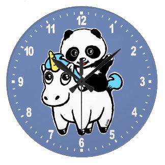 Magically cute large clock
