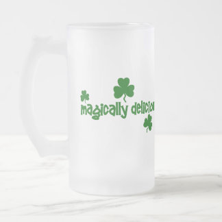 Magically Delicious Frosted Beer Mug