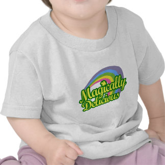 Magically Delicious, St Patricks Day Magic Rainbow T-shirts