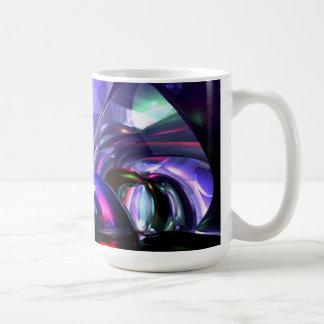 Magically Fantastic Abstract Basic White Mug