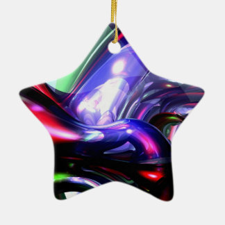 Magically Fantastic Abstract Christmas Tree Ornaments