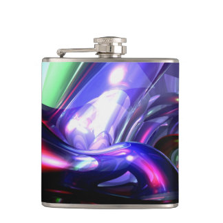 Magically Fantastic Abstract Hip Flask
