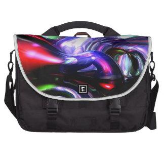Magically Fantastic Abstract Laptop Messenger Bag