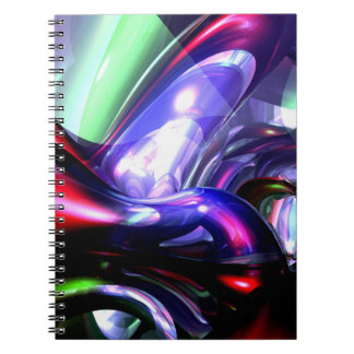 Magically Fantastic Abstract Spiral Notebooks