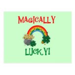 Magically Lucky T-shirts and Gifts Post Card