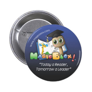 """MagicBlox 2"""" Blue Button"""