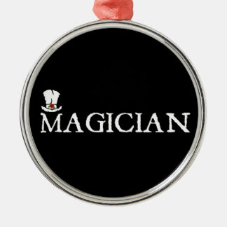 Magician and Hat Christmas Ornament