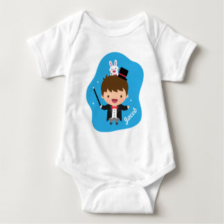 Magician Boy Magic Bunny Trick For Babies Baby Bodysuit