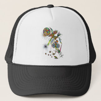 Magician - colorful psychedelic fantasy art trucker hat