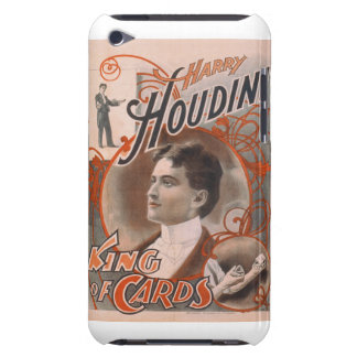 Magician Harry Houdini The King Of Cards Barely There iPod Cases