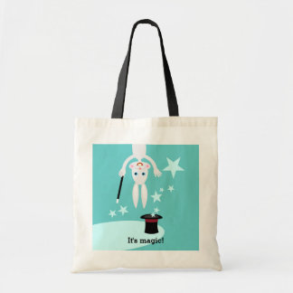 Magician Kid Birthday Party Budget Tote Bag