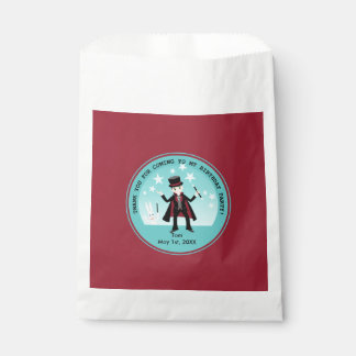 Magician kid birthday party favour bags