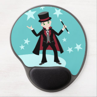 Magician kid birthday party gel mouse pad