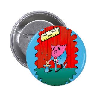 Magician PiGgy! Pins