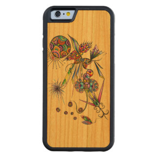 Magician - sun & moon psychedelic character art carved cherry iPhone 6 bumper case