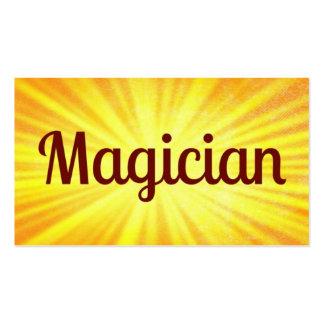 Magician Sunshine Business Card