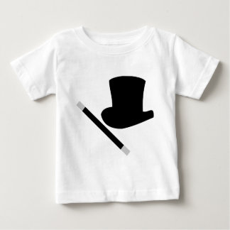 magician top hat and magic wand