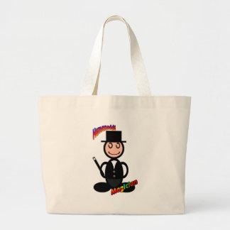 Magician with logos bag