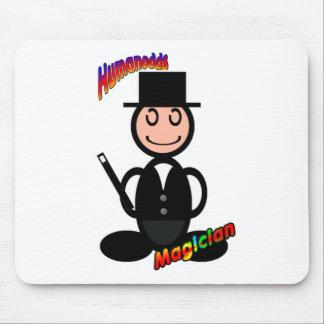 Magician (with logos) mousepads
