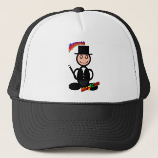 Magician (with logos) trucker hat