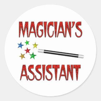 Magicians Assistant Sticker