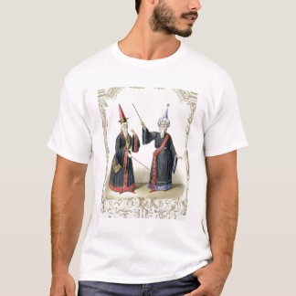 Magicians at the Carnival in Berlin, 1836 (colour T-Shirt