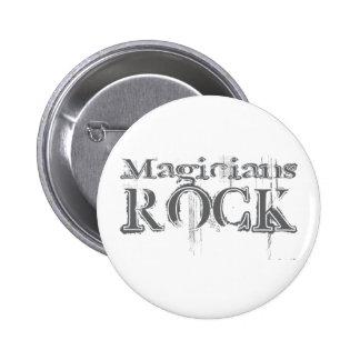 Magicians Rock Pinback Button