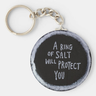 Magick : Salt Basic Round Button Key Ring