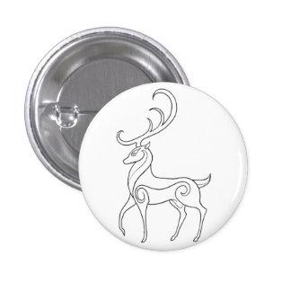 Magick - Stag 3 Cm Round Badge