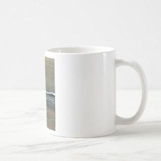 Magicka Ocean Olive Green Moody Beach Coffee Mug
