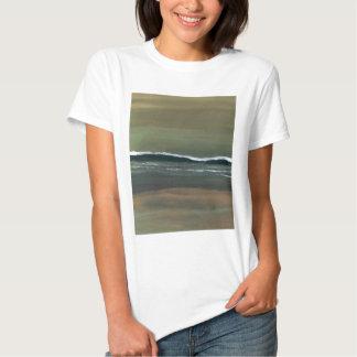 Magicka Ocean Olive Green Moody Beach T Shirts