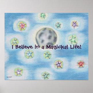 Magickal Night Poster