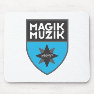"""Magik Muzik """"Blue"""" Mouse Pad"""