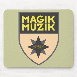 "Magik Muzik ""Creme"" Mousemats"