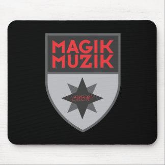 """Magik Muzik """"Silver"""" Mousepad"""