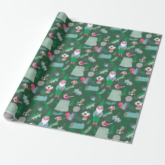 Magikal Forest Gnome Wrapping Paper