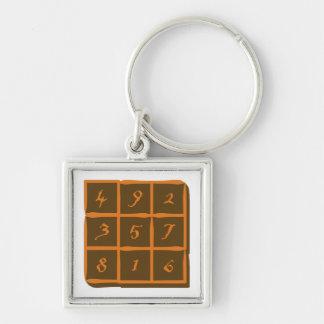 magisches Quadrat magic square Schlüsselband