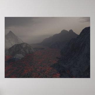 magma haze poster